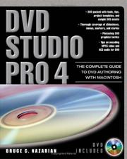 Cover of: DVD Studio Pro 4 | Bruce Nazarian