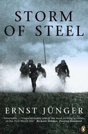 Cover of: Storm of Steel