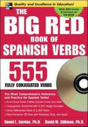Cover of: The Big Red Book of Spanish Verbs w