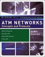 Cover of: ATM Networks | Sumit Kasera