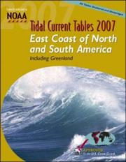 Cover of: Tide Tables 2007 | NOAA