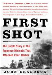 Cover of: First Shot