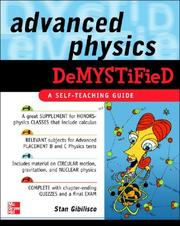 Cover of: Advanced Physics Demystified | Stan Gibilisco