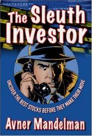 Cover of: The Sleuth Investor