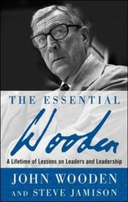 Cover of: The Essential Wooden | John Wooden