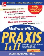 Cover of: McGraw-Hill's PRAXIS I and II, 2nd Ed.