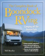 Cover of: The Complete Book of Boondock RVing