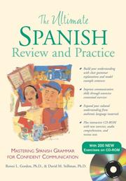 Cover of: The Ultimate Spanish Review and Practice w/CD-ROM (Uitimate Review & Reference)