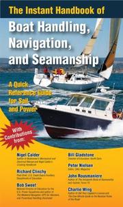 Cover of: The instant handbook of boat handling, navigation, and seamanship