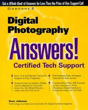Cover of: Digital Photography | Dave Johnson