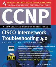 Cover of: Ccnp Cisco Internetwork Troubleshooting Study Guide 4.0 Study Guide, Exam 640-440 | Syngress Media