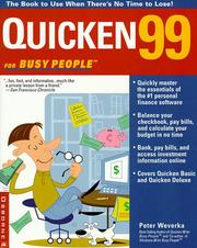 Cover of: Quicken99 for Busy People