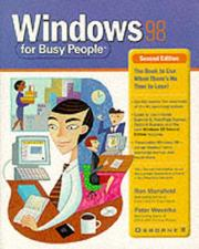 Cover of: Windows 98 for busy people | Ron Mansfield