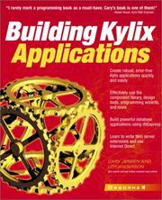 Cover of: Building Kylix applications