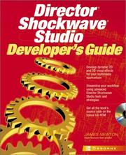 Cover of: Director Shockwave Studio Developer's Guide | Newton, James