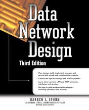 Data network design by Darren L. Spohn