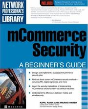 mCommerce Security by Kapil Raina, Anurag Harsh