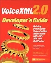 Cover of: VoiceXML 2.0 developer