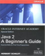 Cover of: Oracle Internet Academy, Java 2: A Beginner's Guide