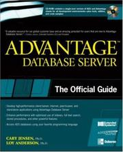 Cover of: Advantage Database Server