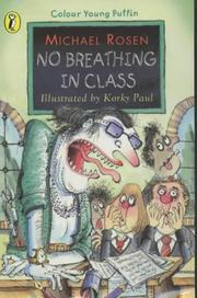 Cover of: No breathing in class