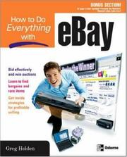 Cover of: How to do everything with eBay
