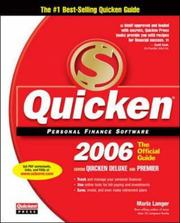 Cover of: Quicken 2006: Official Guide (Quicken: The Official Guide)