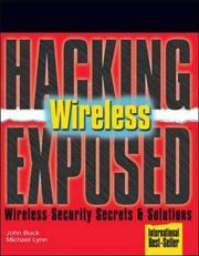 Cover of: Hacking Exposed Wireless (Hacking Exposed) | Johnny Cache