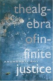 Cover of: The Algebra of Infinite Justice