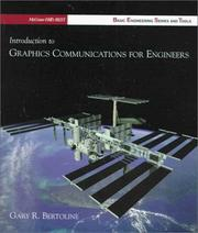Cover of: Introduction to graphics communications for engineers