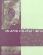 Cover of: Fundamentals of mechanical vibrations