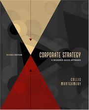 Cover of: Corporate Strategy | David J. Collis