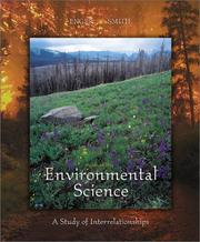 Environmental science by Eldon D. Enger, Richard J. Kormelink, Bradley F. Smith, Gipsy Smith