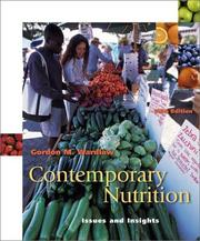 Contemporary Nutrition by Gordon M. Wardlaw