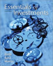 Cover of: Essentials of investments | Zvi Bodie