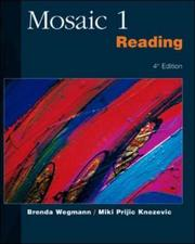 Cover of: Mosaic 1