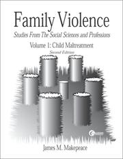 Cover of: Family Violence  Volume I | James Makepeace