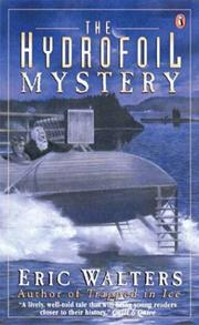 Cover of: The Hydrofoil Mystery