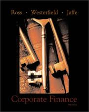 Cover of: Corporate finance
