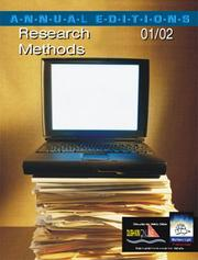 Cover of: Annual Editions: Research Methods 01/02