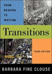 Cover of: Transitions: From Reading to Writing