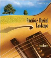 Cover of: America's Musical Landscape