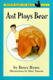 Cover of: Ant Plays Bear | Betsy Cromer Byars