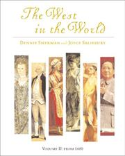 Cover of: The West in the World, Volume I with Making the Grade; MP
