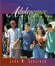 "Cover of: Adolescence with Free ""Making the Grade"" Student CD-ROM"