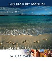 Cover of: Laboratory Manual to accompany Human Biology | Sylvia S. Mader