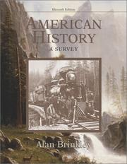 Cover of: American History | Alan Brinkley