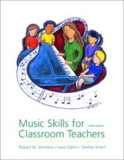 Cover of: Music Skills for Classroom Teachers w. audio CD | Robert W. Winslow