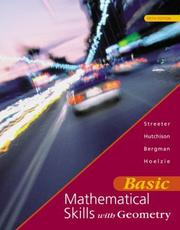 Cover of: Basic Mathematical Skills with Geometry with SMART CD-ROM, Windows Package | James Streeter