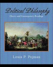Cover of: Political Philosophy: Classic and Contemporary Readings